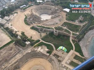 extreme israel -  Caesarea from above