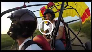 טיסת חוויה ב בקאי טרקטורון מעופף במרכז הארץ