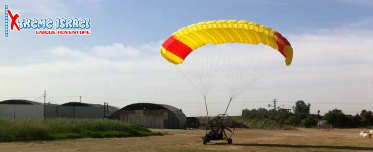 powered parachute flight-ppc