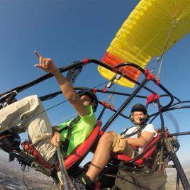 המסלול הקלאסי – 20 דק טיסה בטרקטורון מעופף וצילום.
